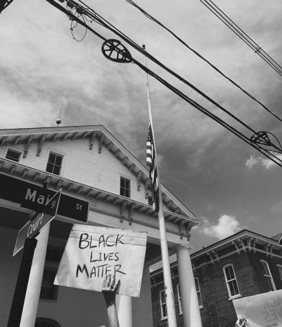 Photo taken at Black Lives Matter protest in Flemington, New Jersey on June 6th 2020.