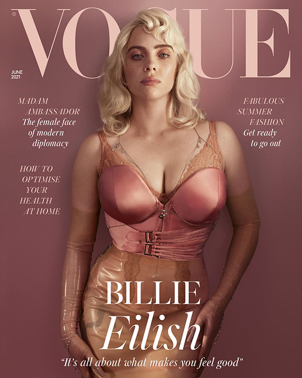 """""""I'm not letting myself be owned anymore:"""" Billie Eilish's Vogue Cover"""